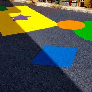 piso cauchos para parque infantil