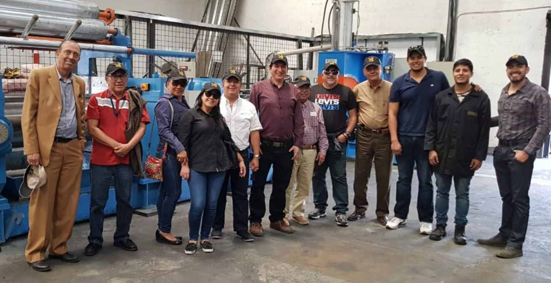 Visita delegados de la Municipalidad de Guayaquil