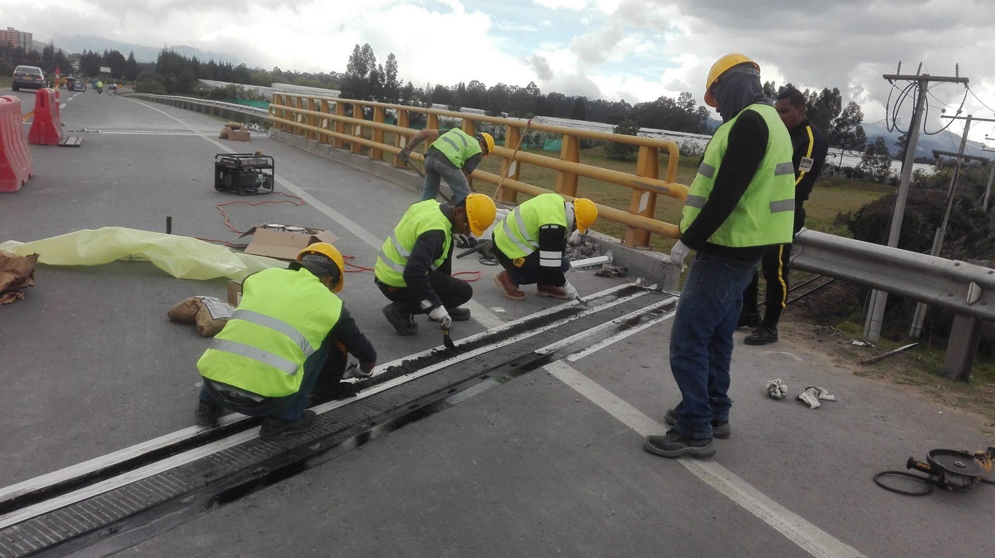 Juntas Puente Ferrocarril 2 en Colombia caucho vikingos